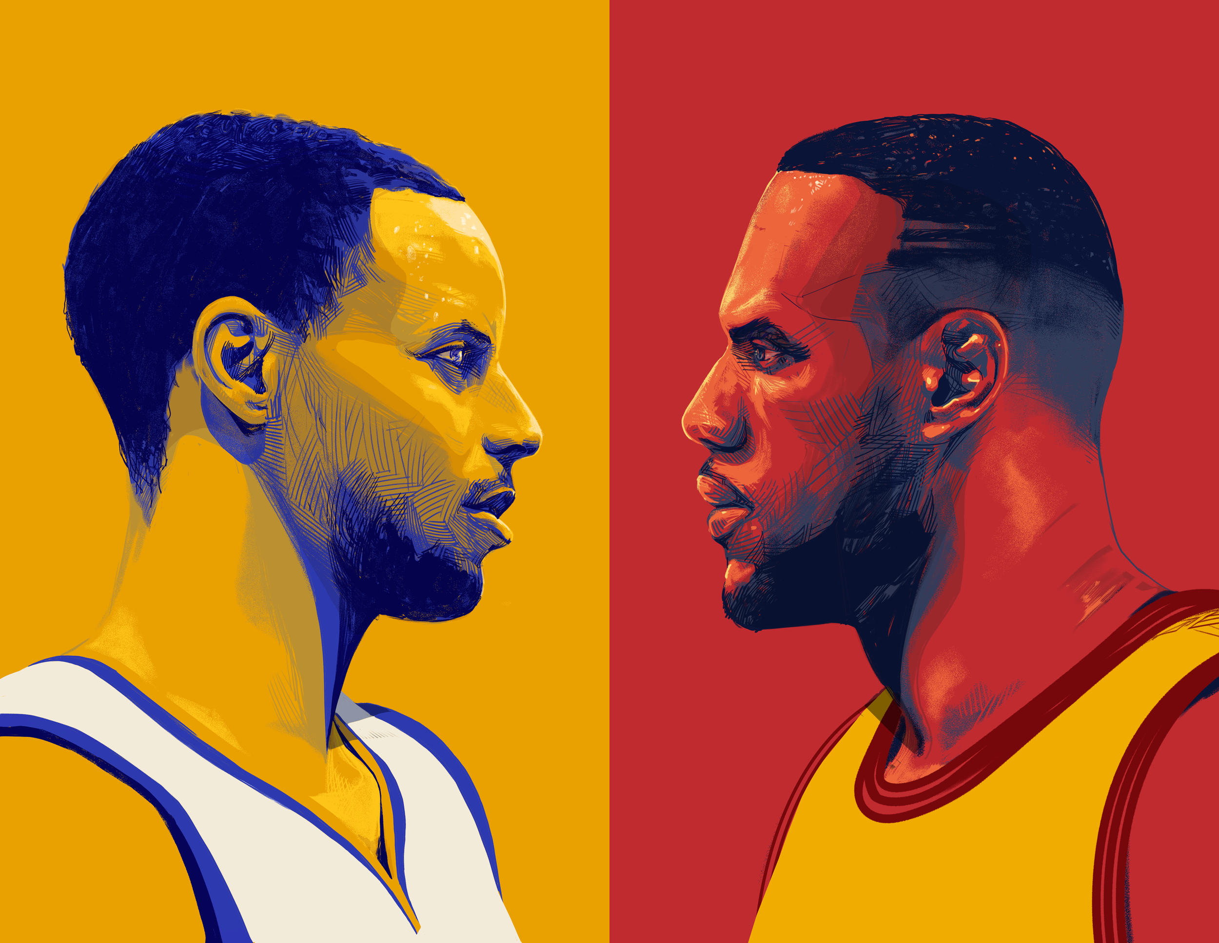 NBA FINALS - SportsCenter/ ESPNArtwork for ESPN's coverage of the 2015 NBA Finals. Before Kyrie Irving was traded, before Kevin Durant joined a 73-win team, before the Warriors blew a 3-1 lead.