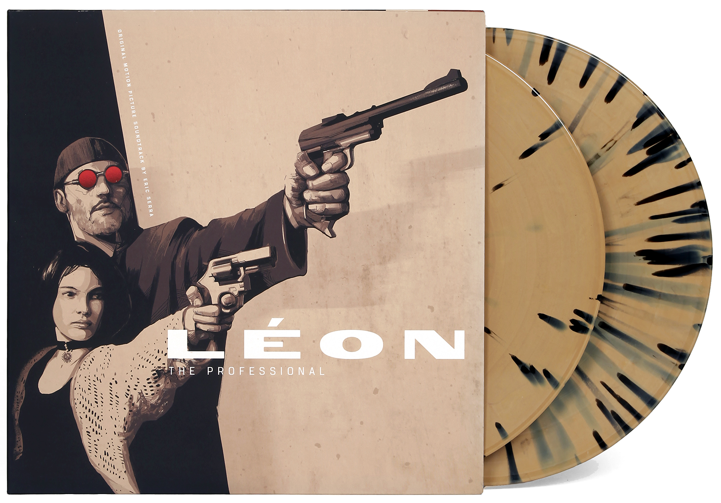 LEON: THE PROFESSIONAL - Waxwork / Sony / Columbia PictureFilm Soundtrack on vinyl