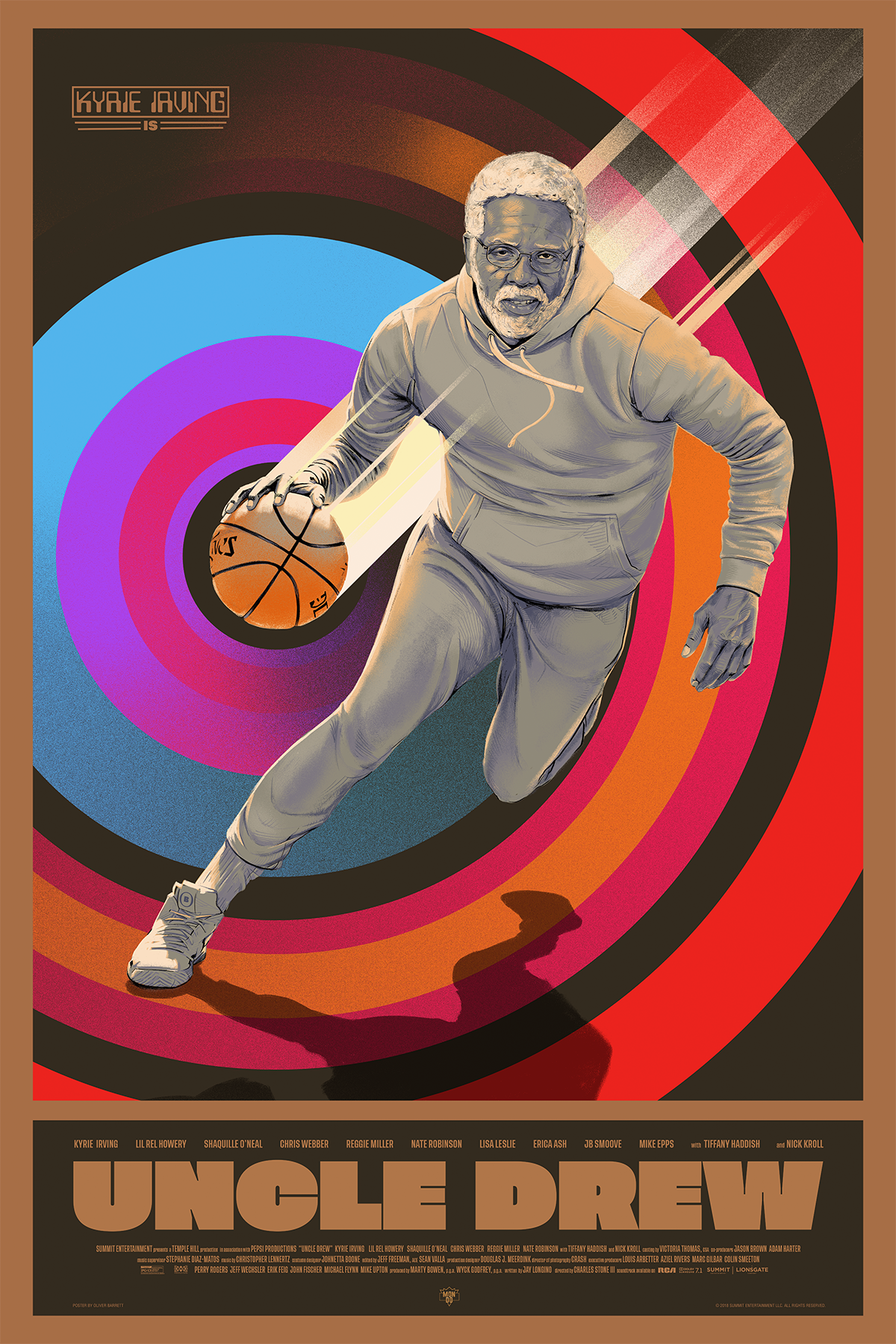 UNCLE DREW - Mondo / LionsgateLimited edition, screen-printed film poster.Available in the shop