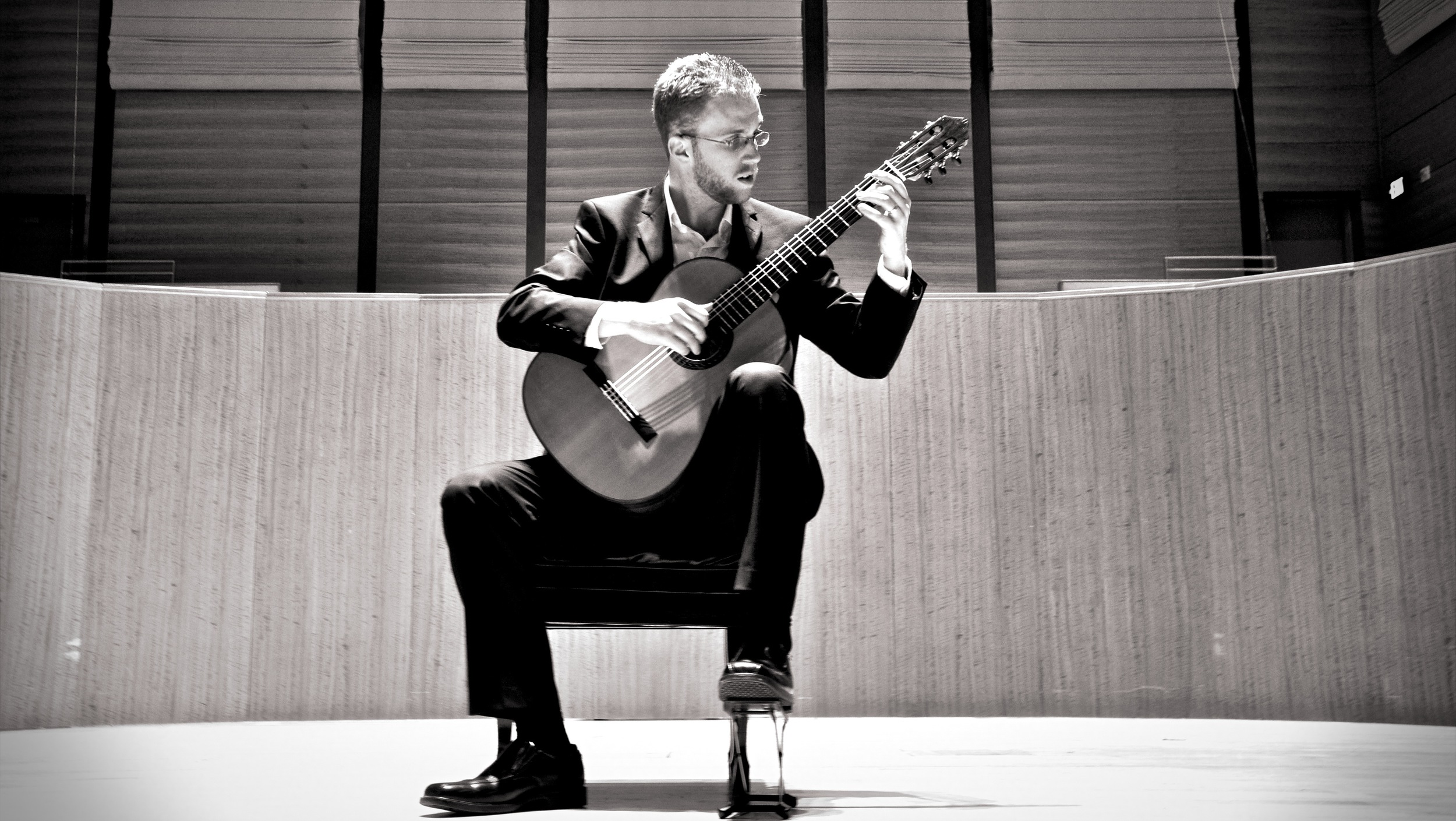 """""""...an expressive guitarist with a great sense of rhythm and tone colors.""""    -Sérgio Assad, Grammy winning guitarist and composer"""