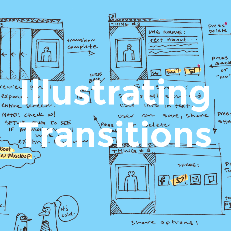 Illustrating Transitions