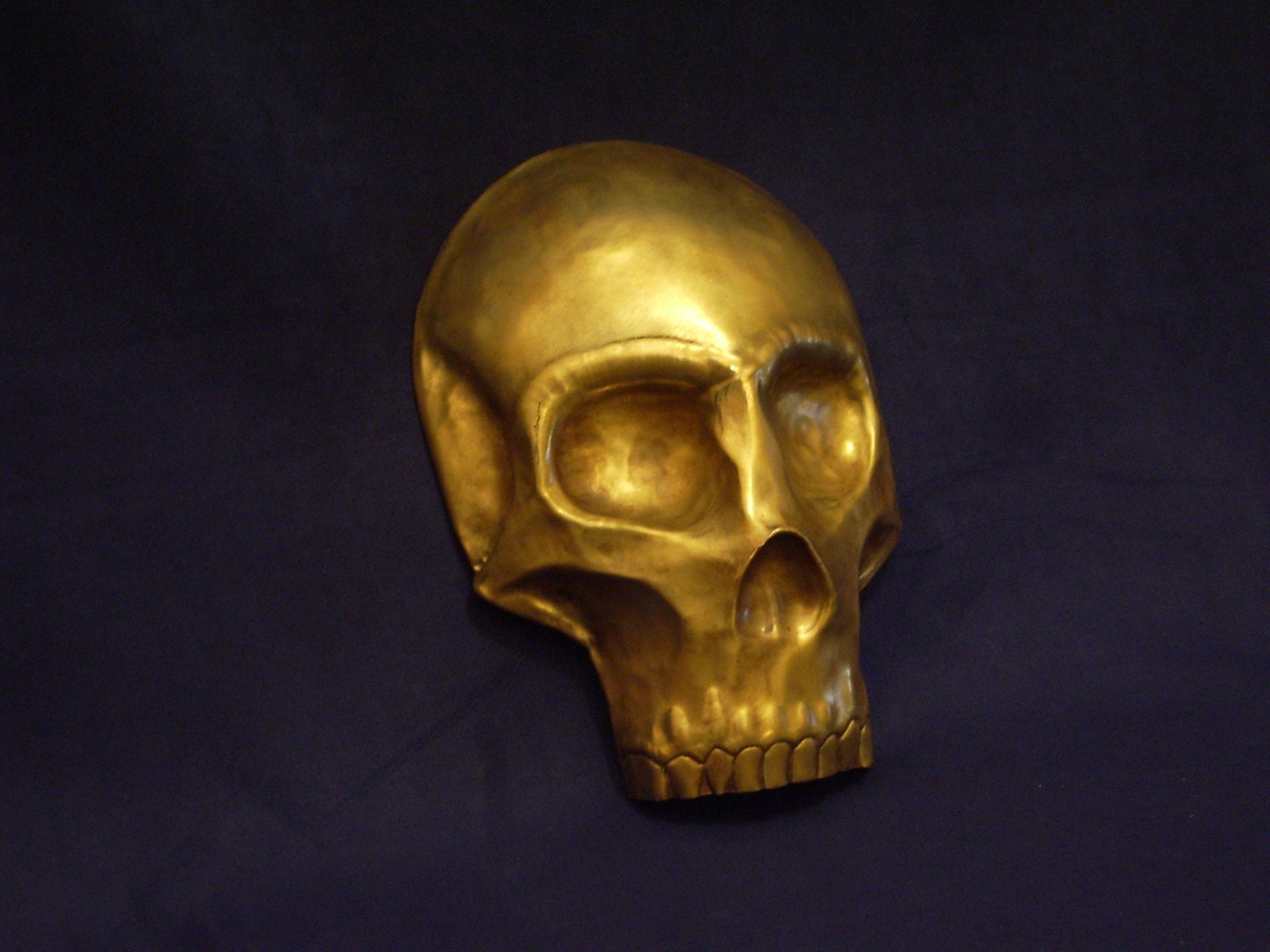 Brass Skull