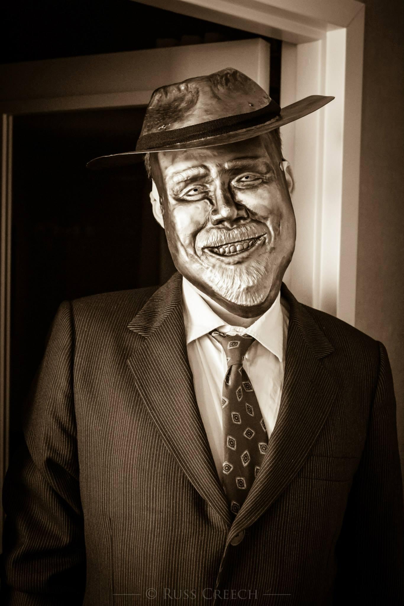 Adam Savage Death Mask