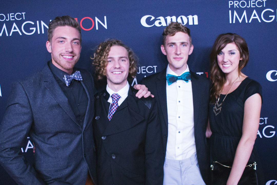 The Red Carpet w/ my pals! Photo by  Brad Wagner Photography