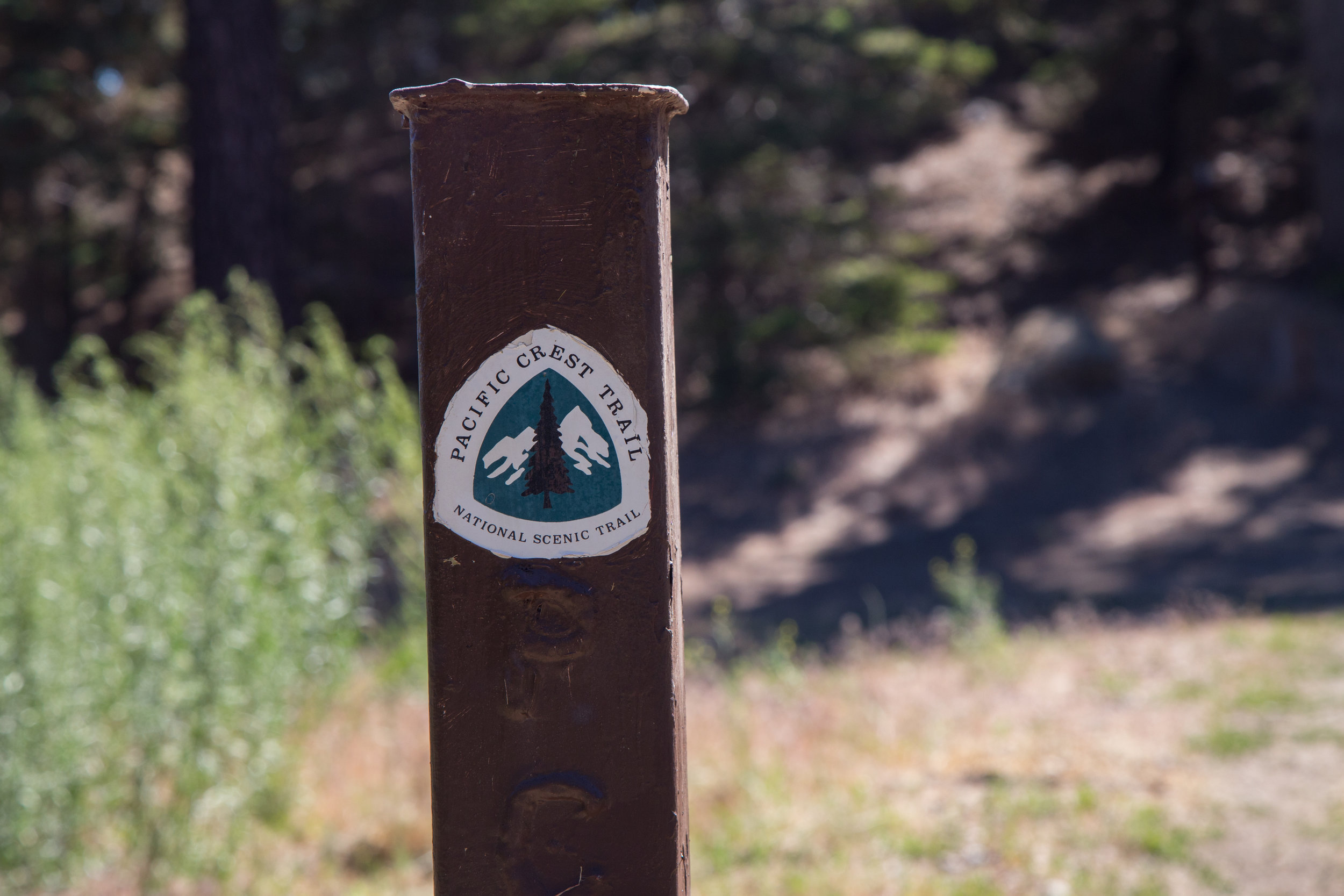 Junction of the PCT