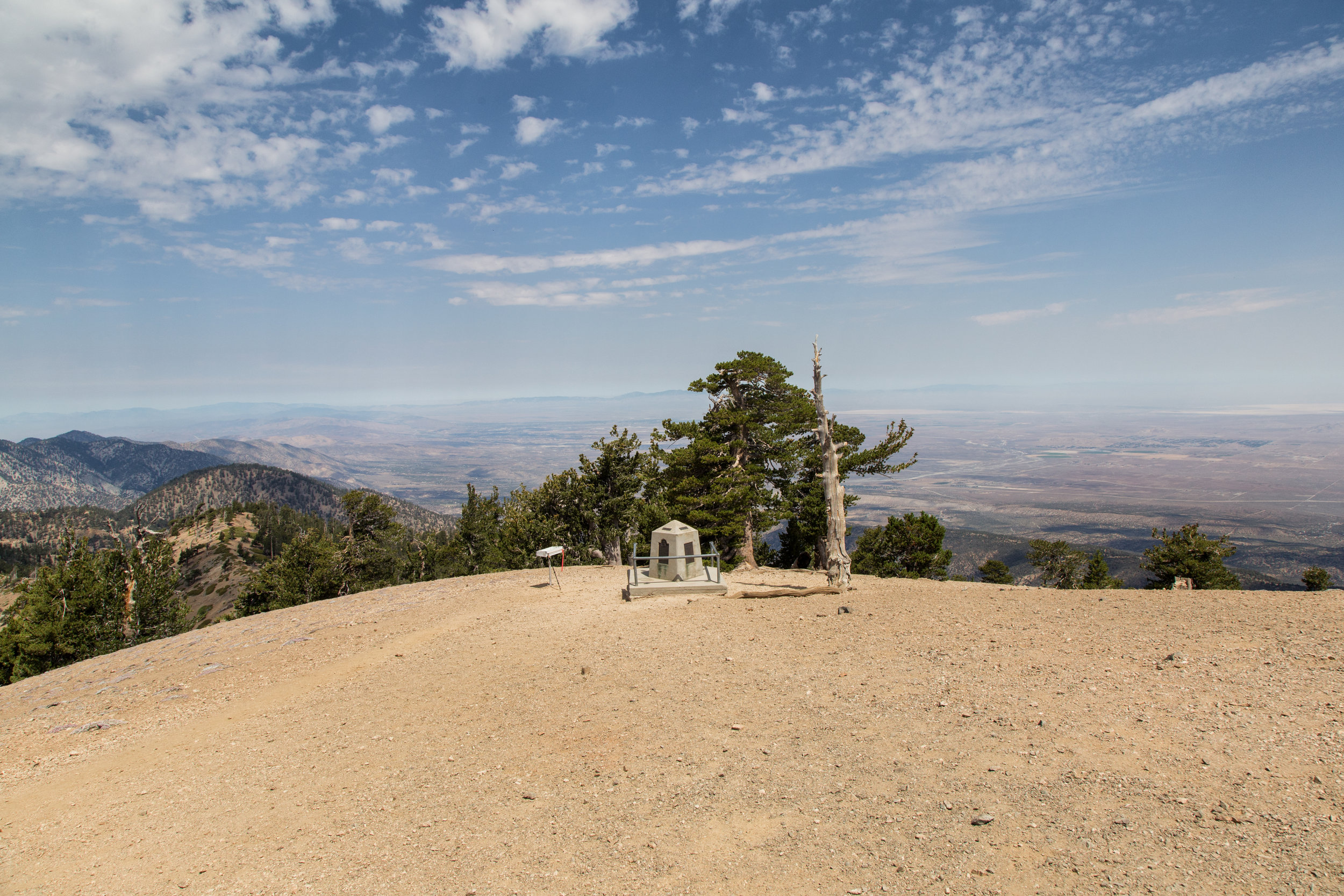 When we arrived, we had the whole summit to ourselves. We sat down under the shade of the limber pines, had some lunch and enjoyed the views. Soon after, we began to see other hikers reaching the top.