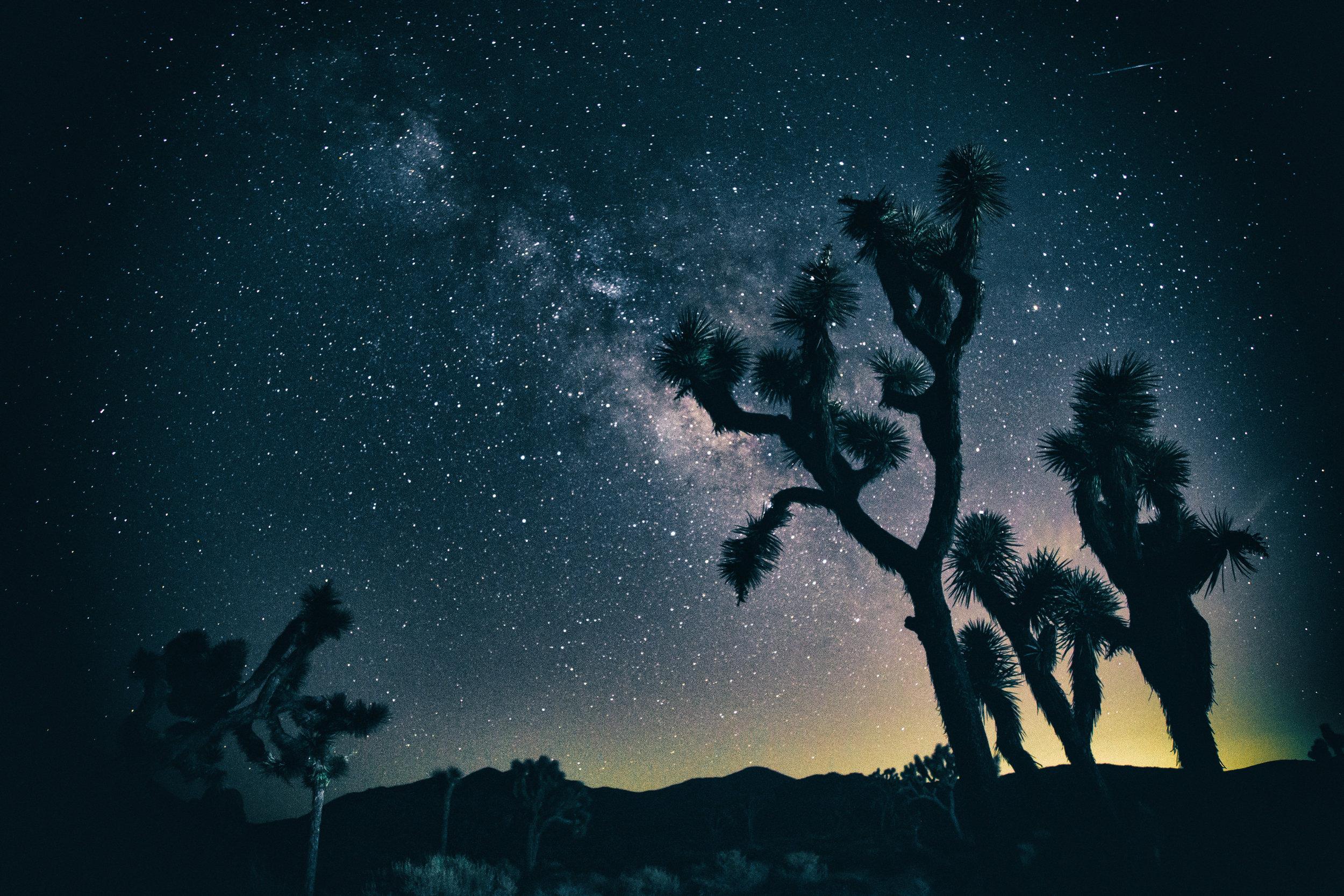 The Milky Way Galaxy from Cap Rock