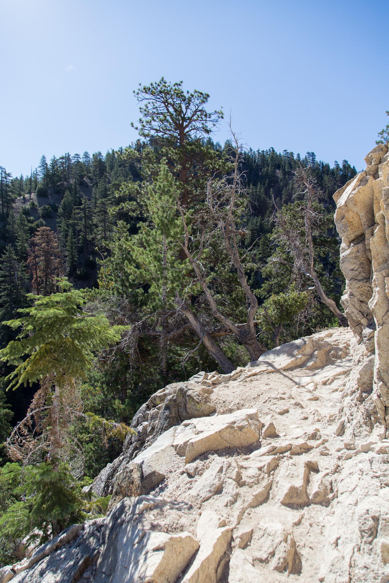 More rocky terrain. Easy to negotiate.