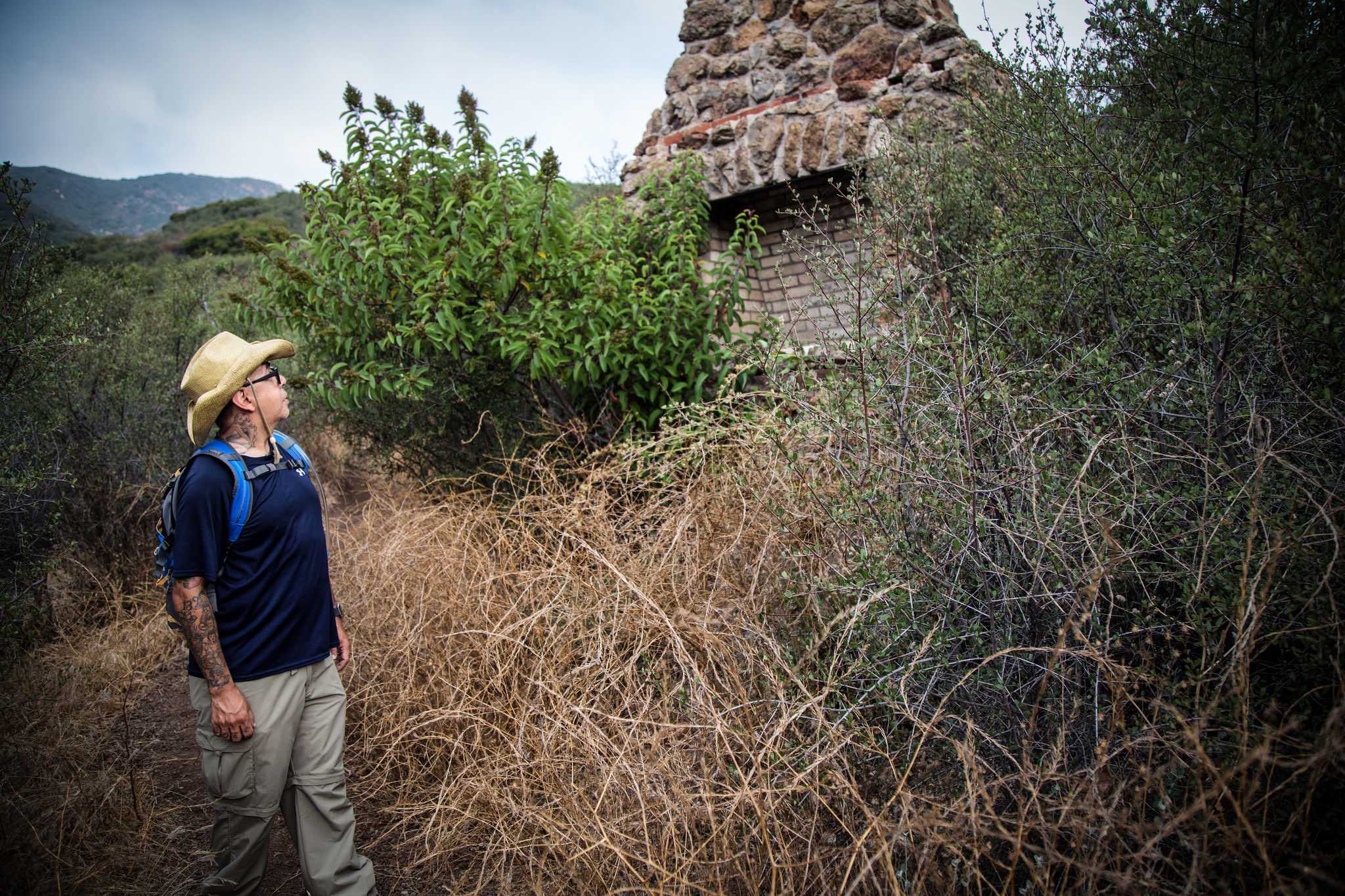 You'll also get to see some ruins on this trail of more homes that burned in the wildfires.