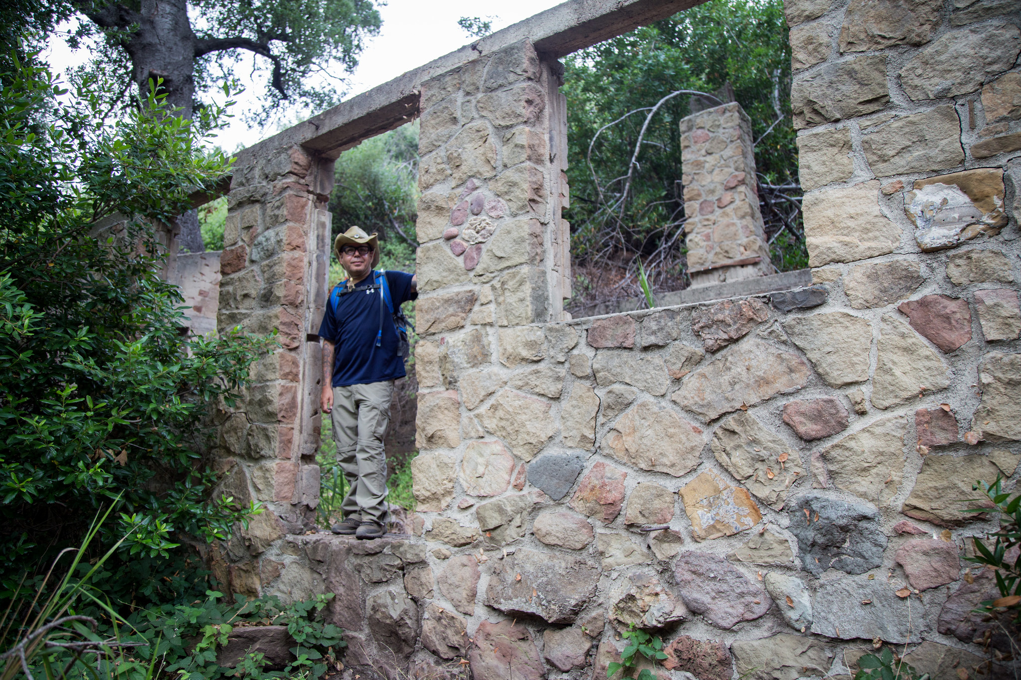 Ruins of another cabin - Sostomo Trail