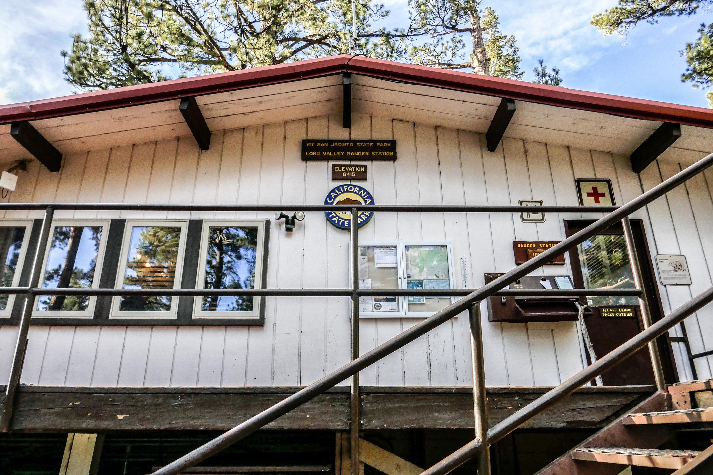 Long Valley Ranger Station.