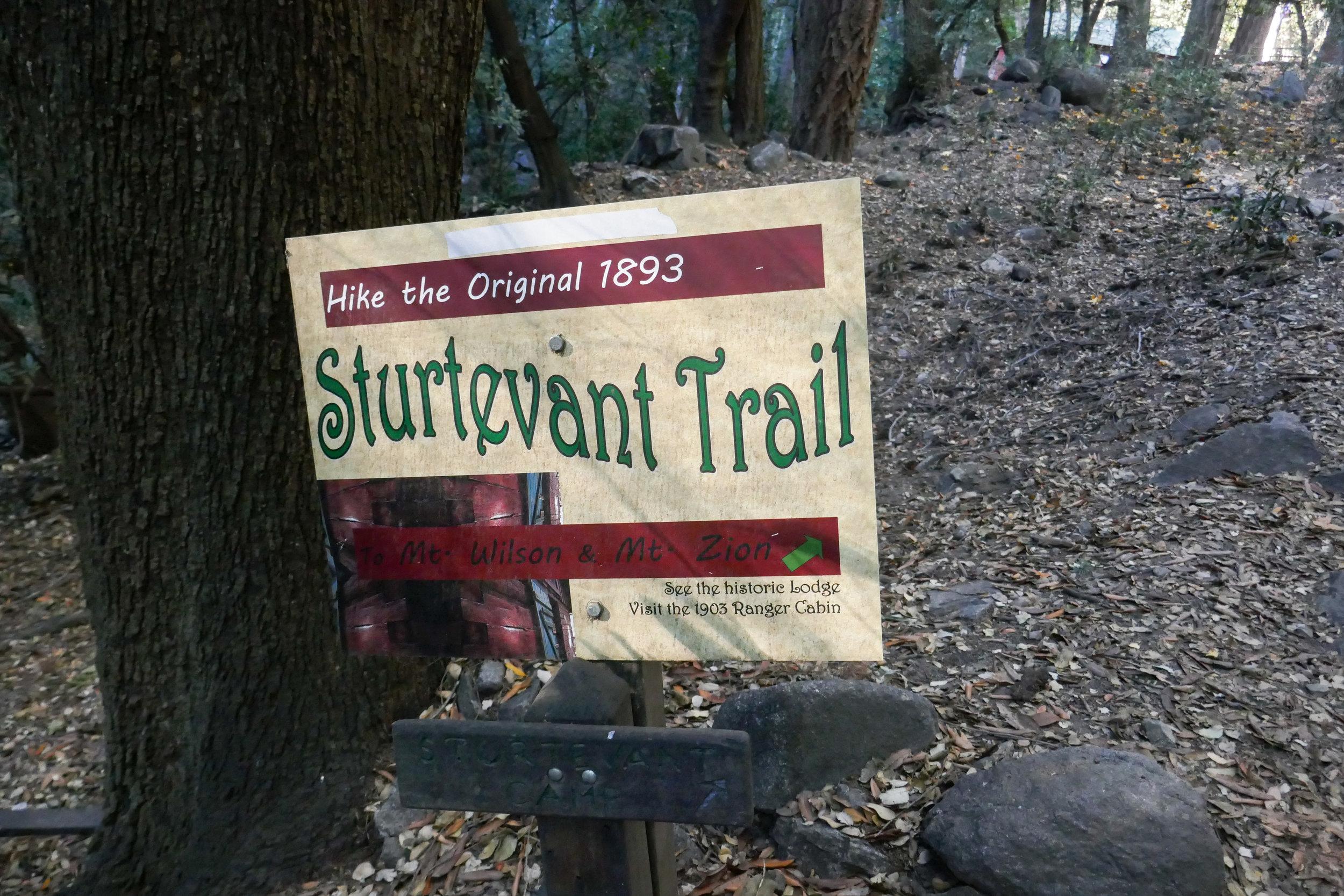 Heading to the historic Sturtevant Camp.