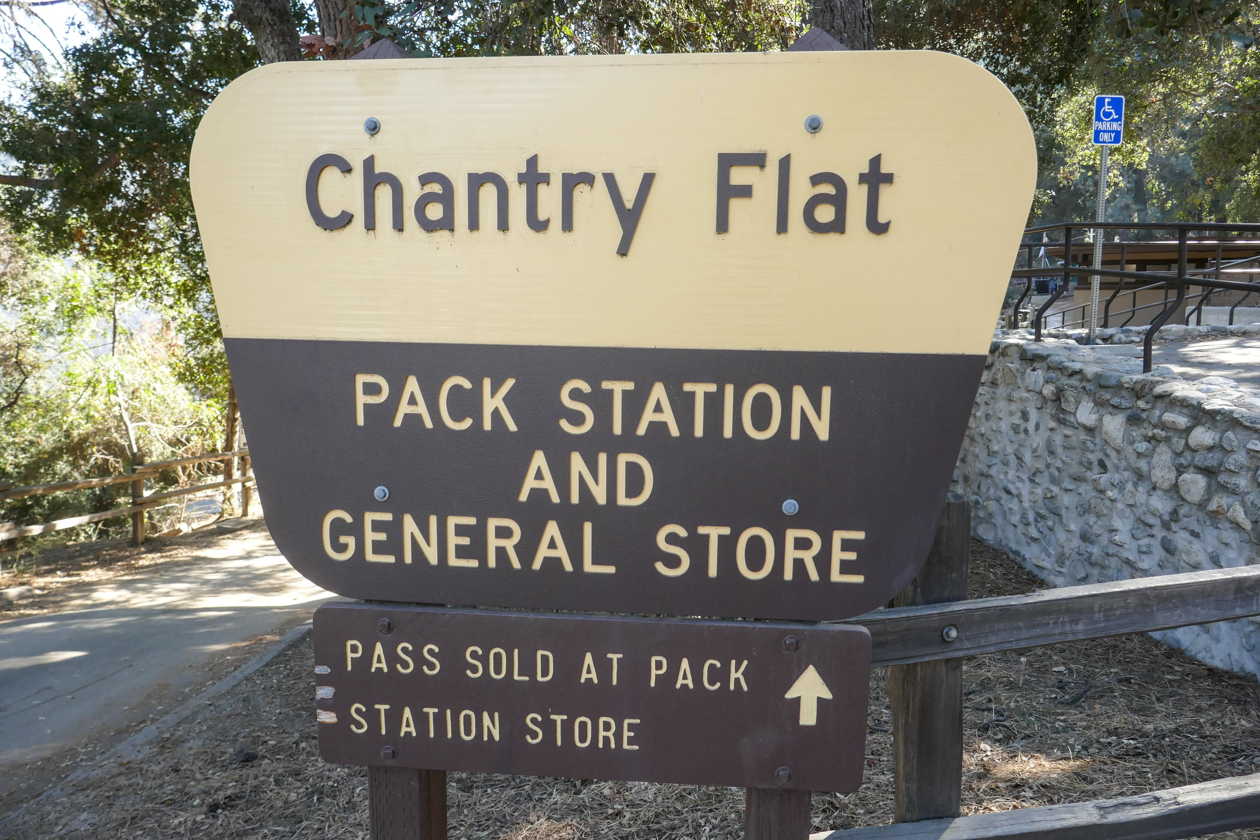 We stopped at the pack station for some ice cream, but the mules were out making a delivery to Sturtevant Camp.