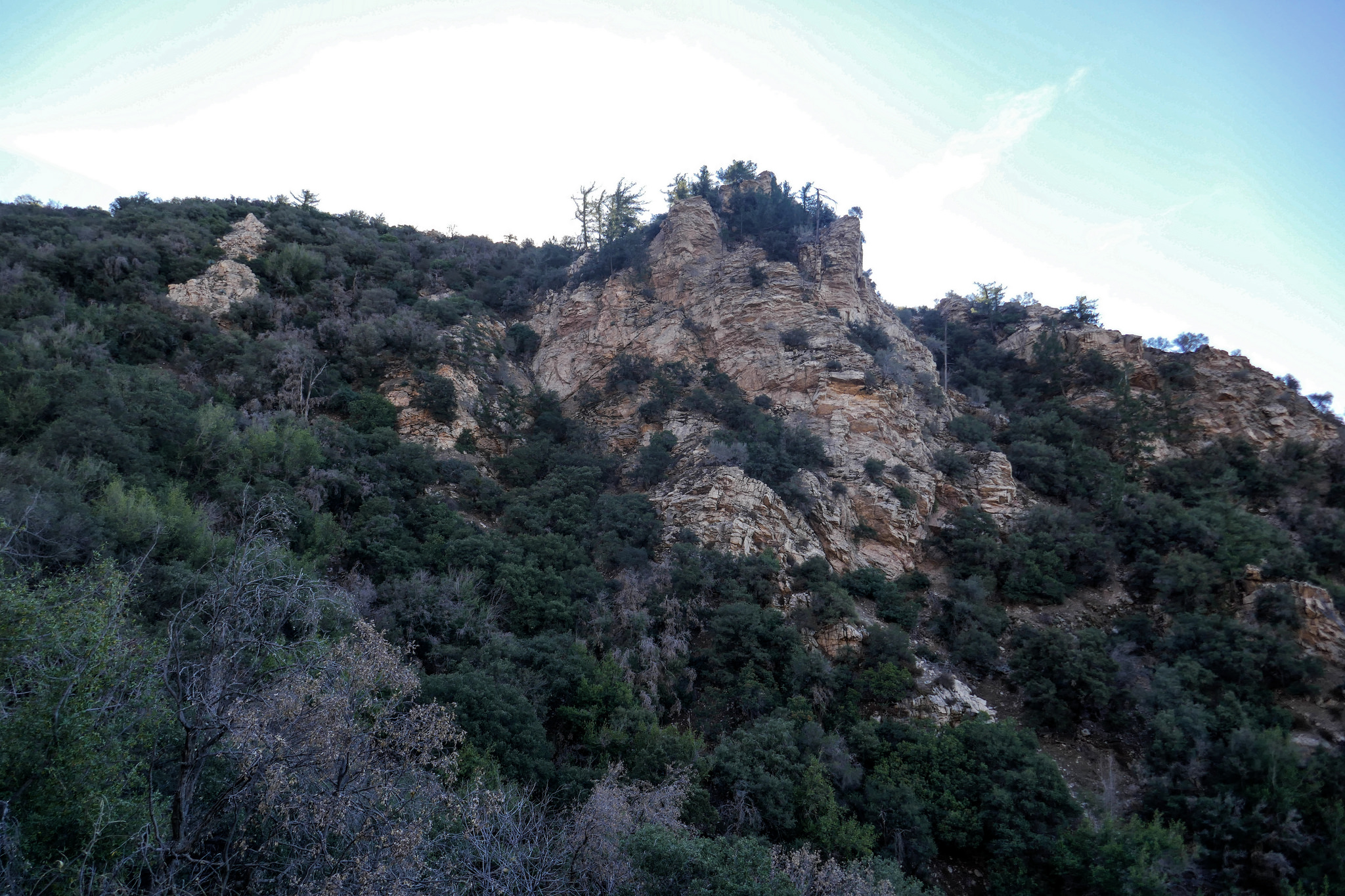"""This rock formation kind of looks like a castle. I wonder if that's why it's called """"Castle Canyon""""."""