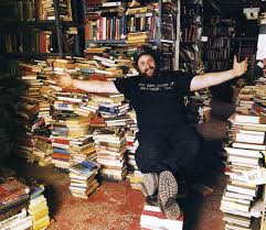 Russell Wattenberg surrounded by what he loves
