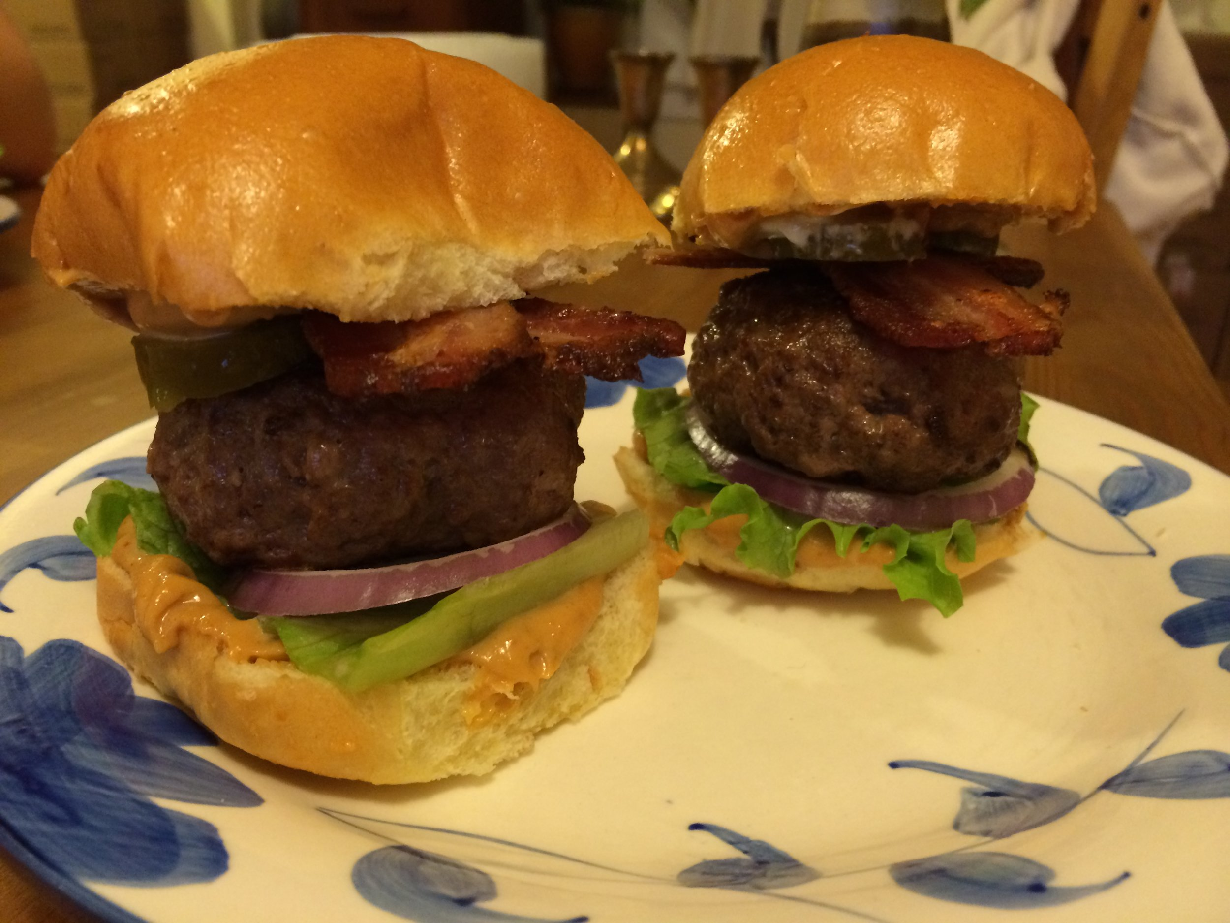 Honey Chipotle Peanut Butter Sliders With Bacon And Pickles Eliot S Nut Butters