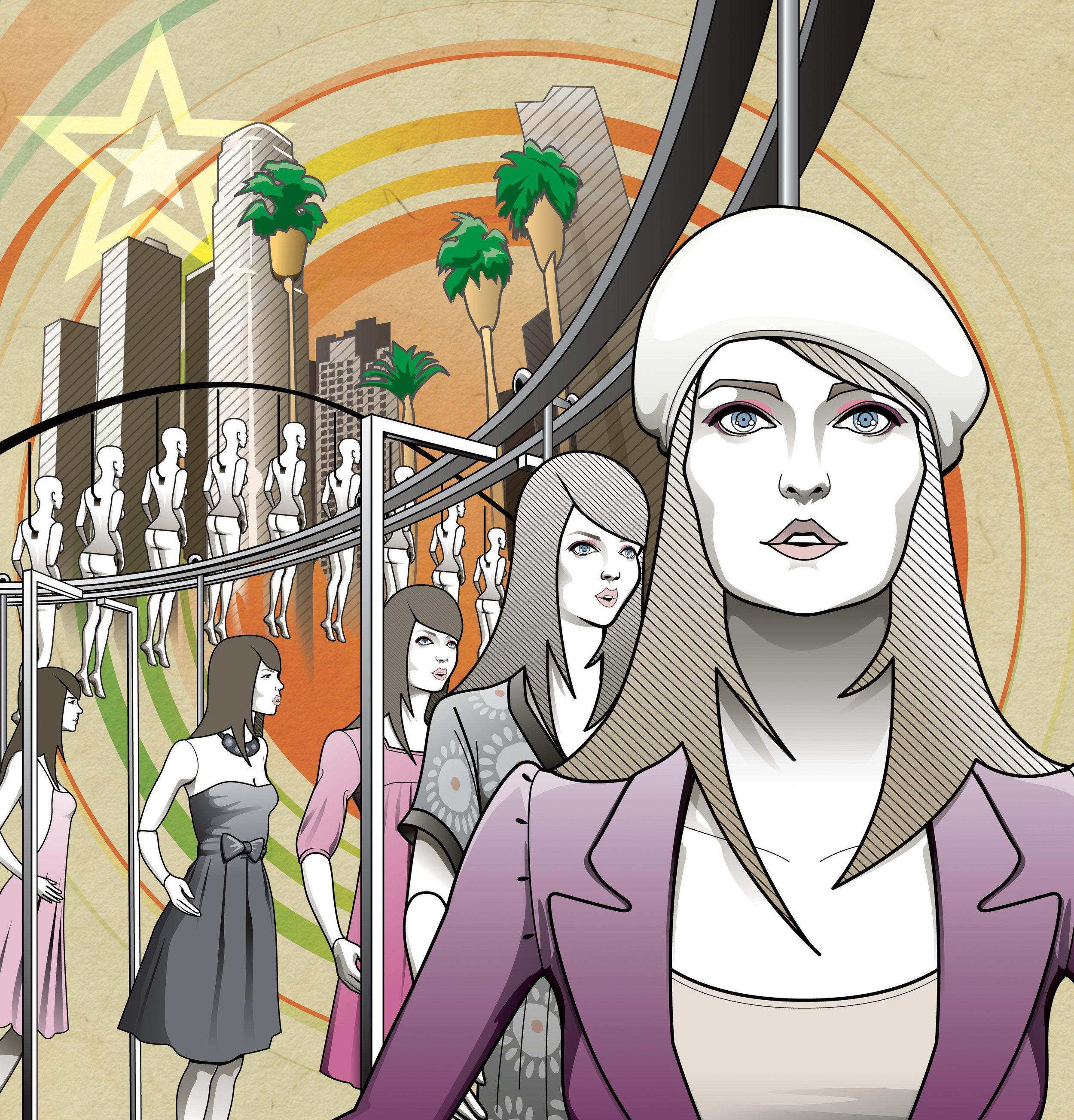 Forever 21 investigation -- Illustration by Shingo Shimizu
