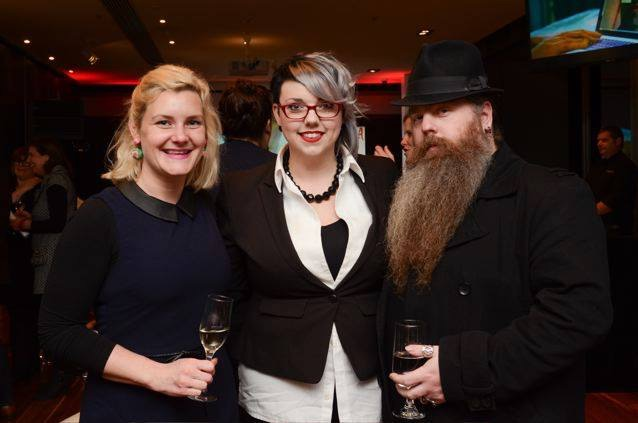 2015 SALA LAUNCH: with  Kate Moskwa   ,     Angelique Joy     and     Brent Leideritz at the official launch held at the Advertiser building on July the 3rd.  Image (c) SALA 2015.