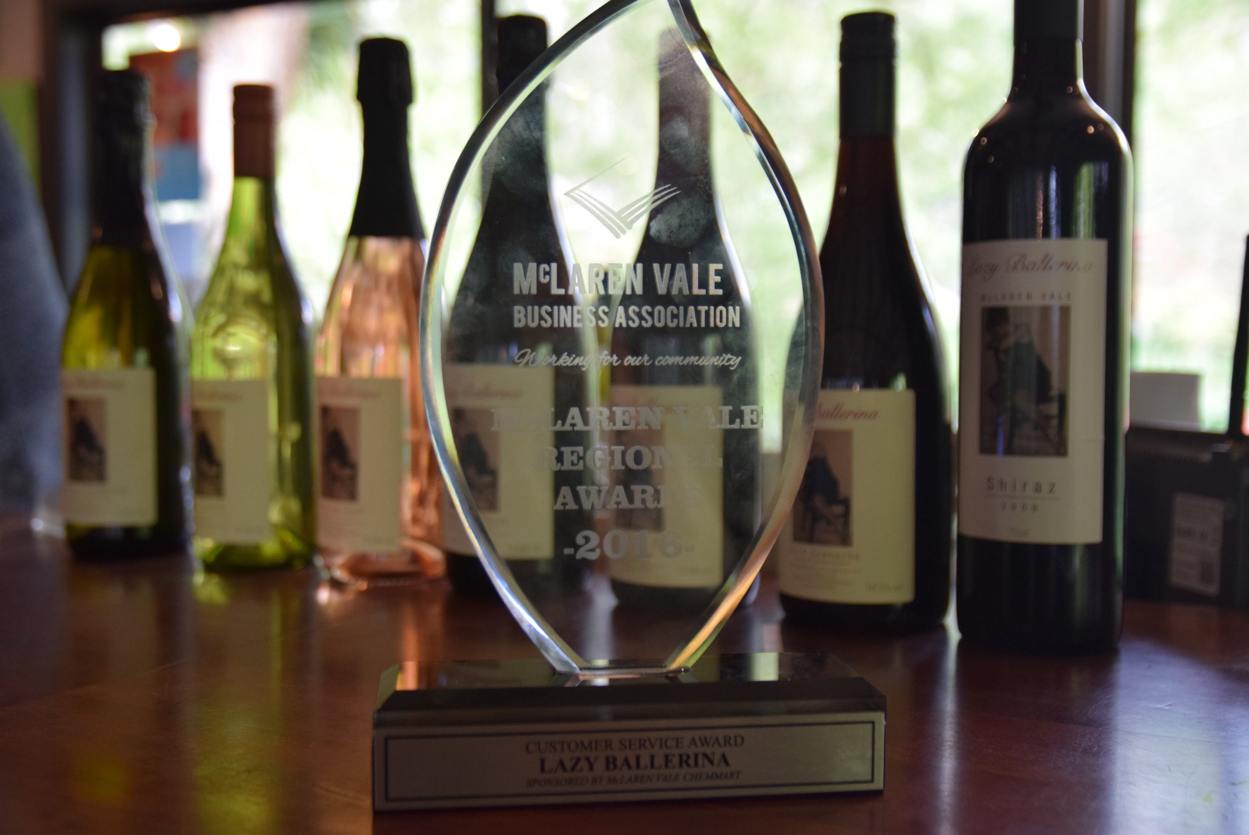 Thank you for your support!   Customer Service sponsored by McLaren Vale Chemmart   Winner – Lazy Ballerina