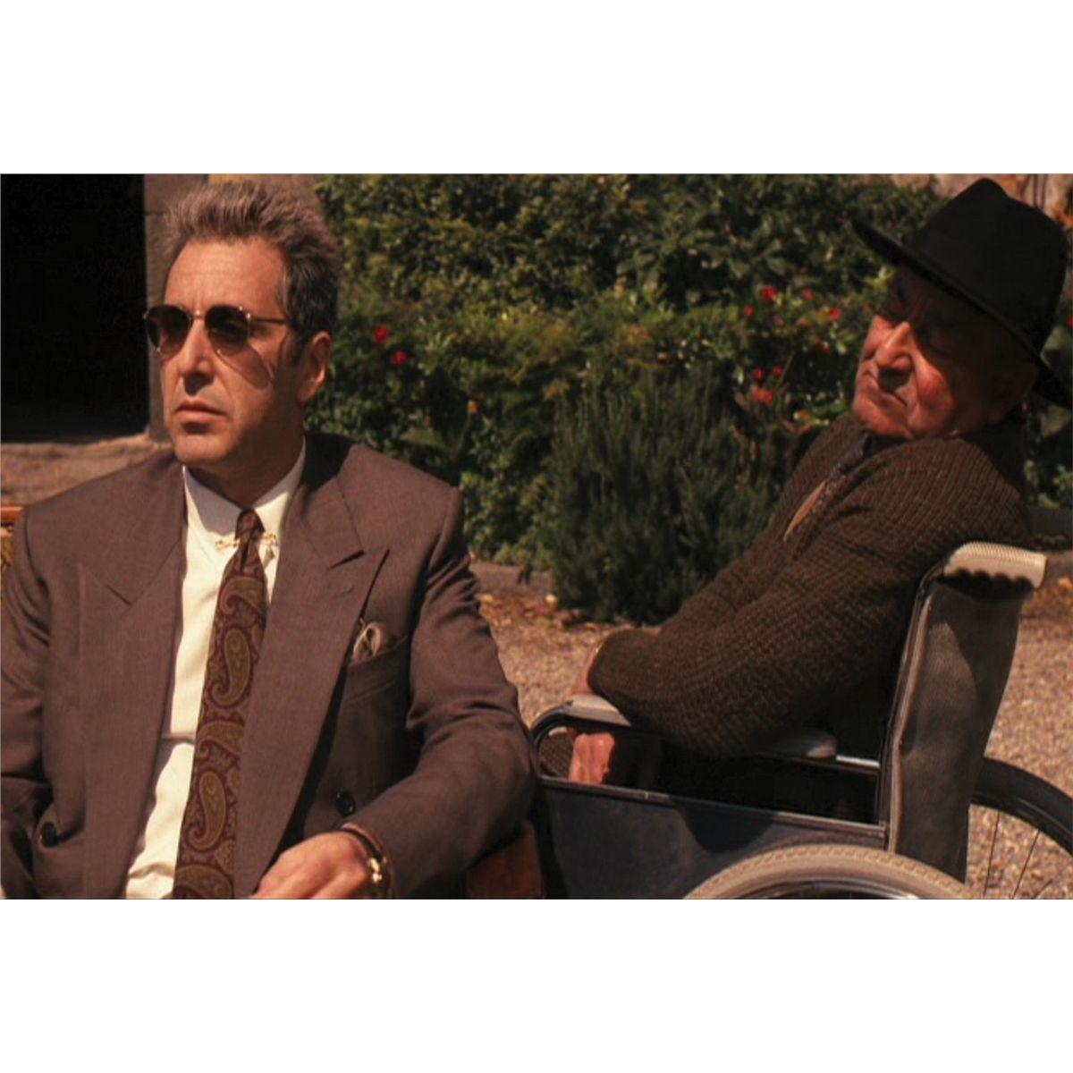 Michael Corleone y Don Tommasino