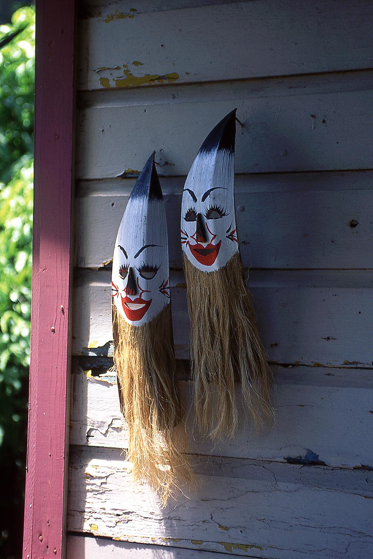 Máscaras, Puerto Rico