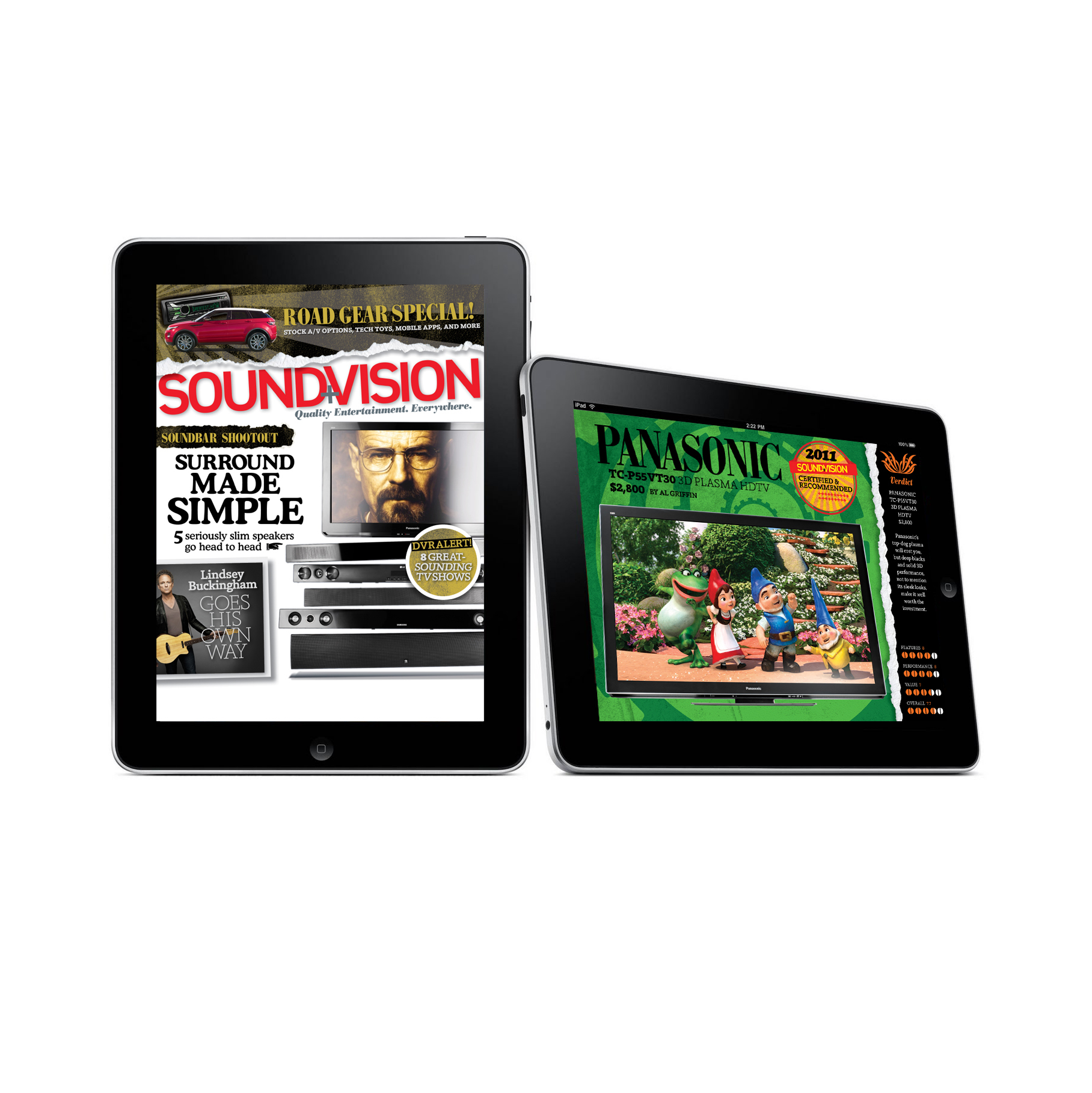 Sound+Vision Magazine iPad edition
