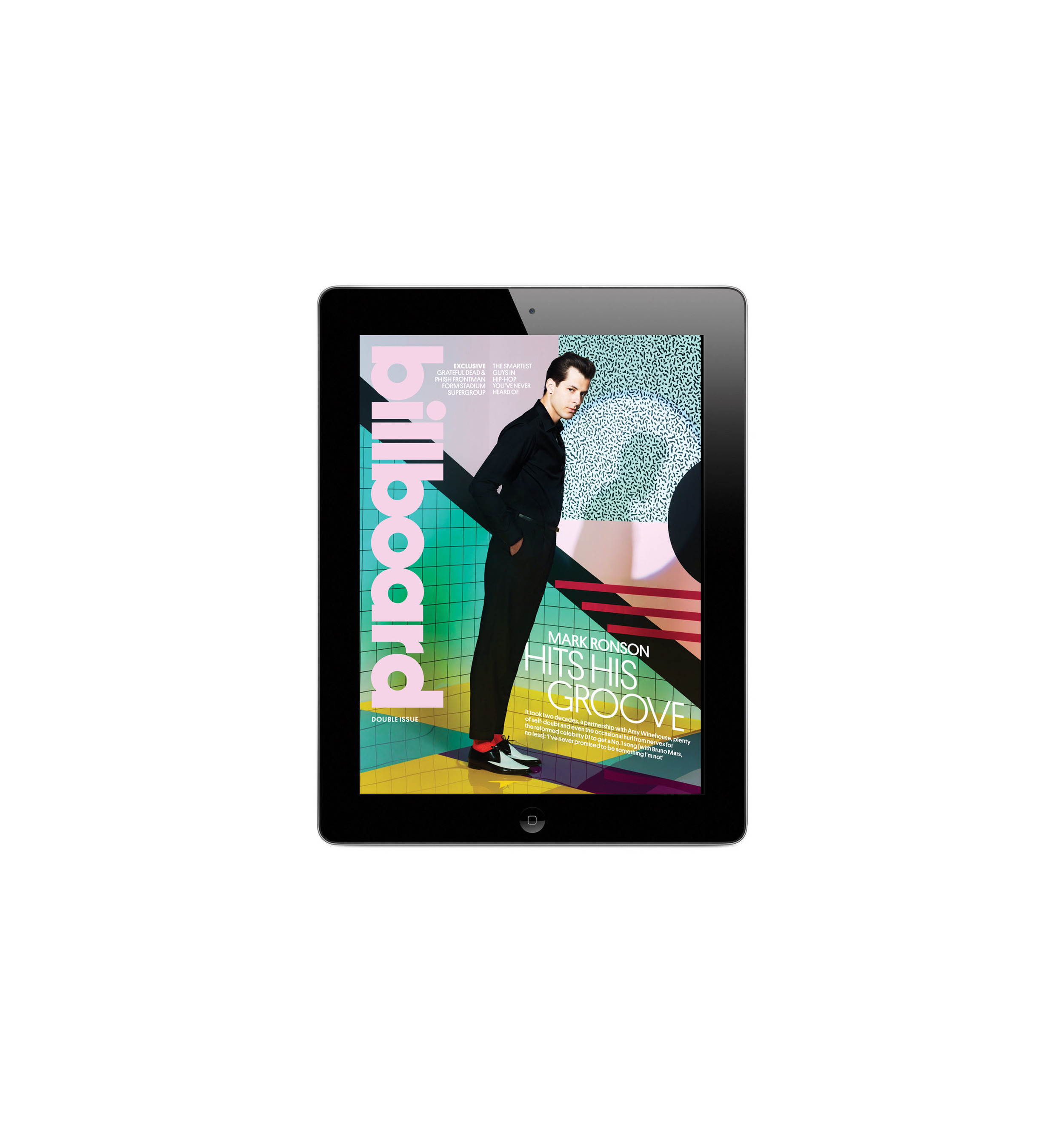 Mark Ronson iPad Issue