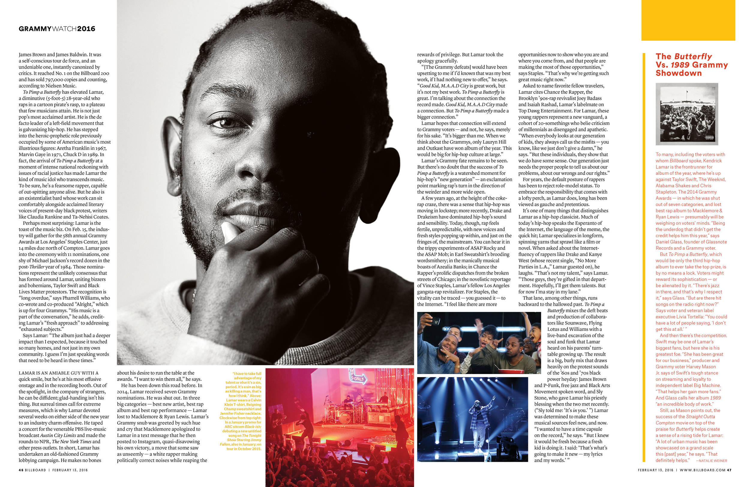 Kendrick Lamar Cover Feature