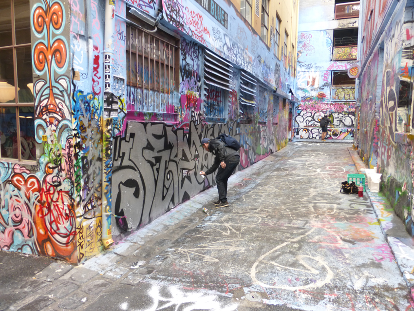 """Art can be found all over the city. This block long lane with two side alleys is filled with graffiti art. An artistic space that seems to be sanctioned by the city.                0    0    1    25    144    Kikio Creative Communications    1    1    168    14.0                          Normal    0                false    false    false       EN-US    JA    X-NONE                                                                                                                                                                                                                                                                                                                                                                                                                                                                                                                                                  /* Style Definitions */ table.MsoNormalTable {mso-style-name:""""Table Normal""""; mso-tstyle-rowband-size:0; mso-tstyle-colband-size:0; mso-style-noshow:yes; mso-style-priority:99; mso-style-parent:""""""""; mso-padding-alt:0in 5.4pt 0in 5.4pt; mso-para-margin:0in; mso-para-margin-bottom:.0001pt; mso-pagination:widow-orphan; font-size:12.0pt; font-family:Cambria; mso-ascii-font-family:Cambria; mso-ascii-theme-font:minor-latin; mso-hansi-font-family:Cambria; mso-hansi-theme-font:minor-latin;}"""