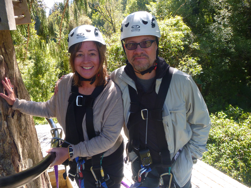 """Since we didn't get blown up or boiled to death in the morning, we decided to push our luck a little further and do a rain forest canopy tour via zip line. It was also super scary, but we both survived and Annie's back is doing great! (We figured this would be a really good test).                0    0    1    42    242    Kikio Creative Communications    2    1    283    14.0                          Normal    0                false    false    false       EN-US    JA    X-NONE                                                                                                                                                                                                                                                                                                                                                                                                                                                                                                                                                  /* Style Definitions */ table.MsoNormalTable {mso-style-name:""""Table Normal""""; mso-tstyle-rowband-size:0; mso-tstyle-colband-size:0; mso-style-noshow:yes; mso-style-priority:99; mso-style-parent:""""""""; mso-padding-alt:0in 5.4pt 0in 5.4pt; mso-para-margin:0in; mso-para-margin-bottom:.0001pt; mso-pagination:widow-orphan; font-size:12.0pt; font-family:Cambria; mso-ascii-font-family:Cambria; mso-ascii-theme-font:minor-latin; mso-hansi-font-family:Cambria; mso-hansi-theme-font:minor-latin;}"""