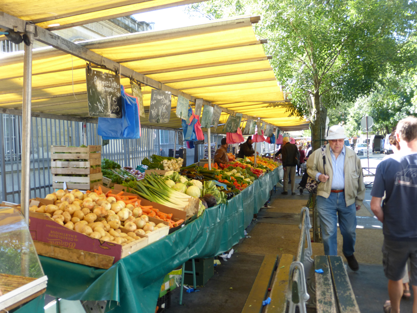 It started with an early morning trip to the local market to get breakfast