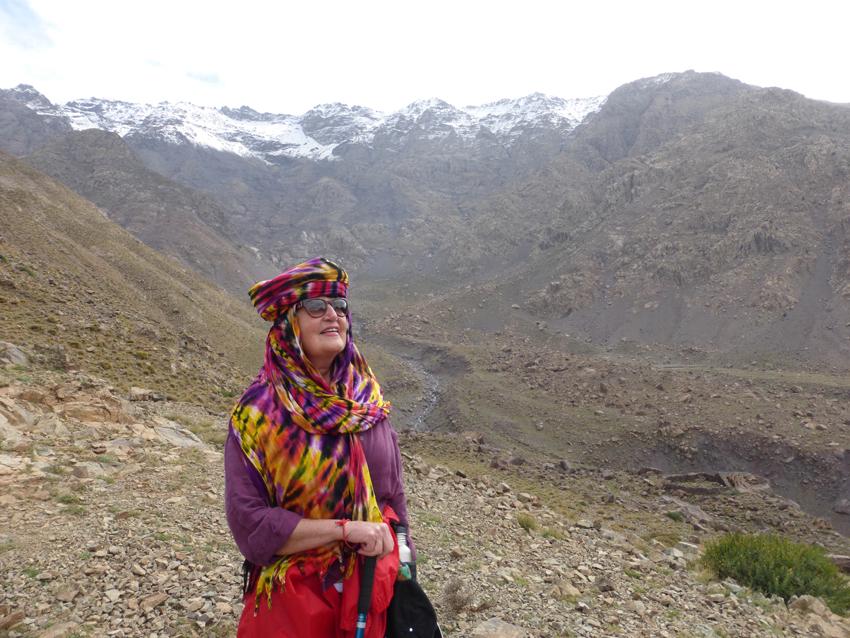 """La La"" means princess. This is La La Pat - she was indeed the princess of the mountaintop today."