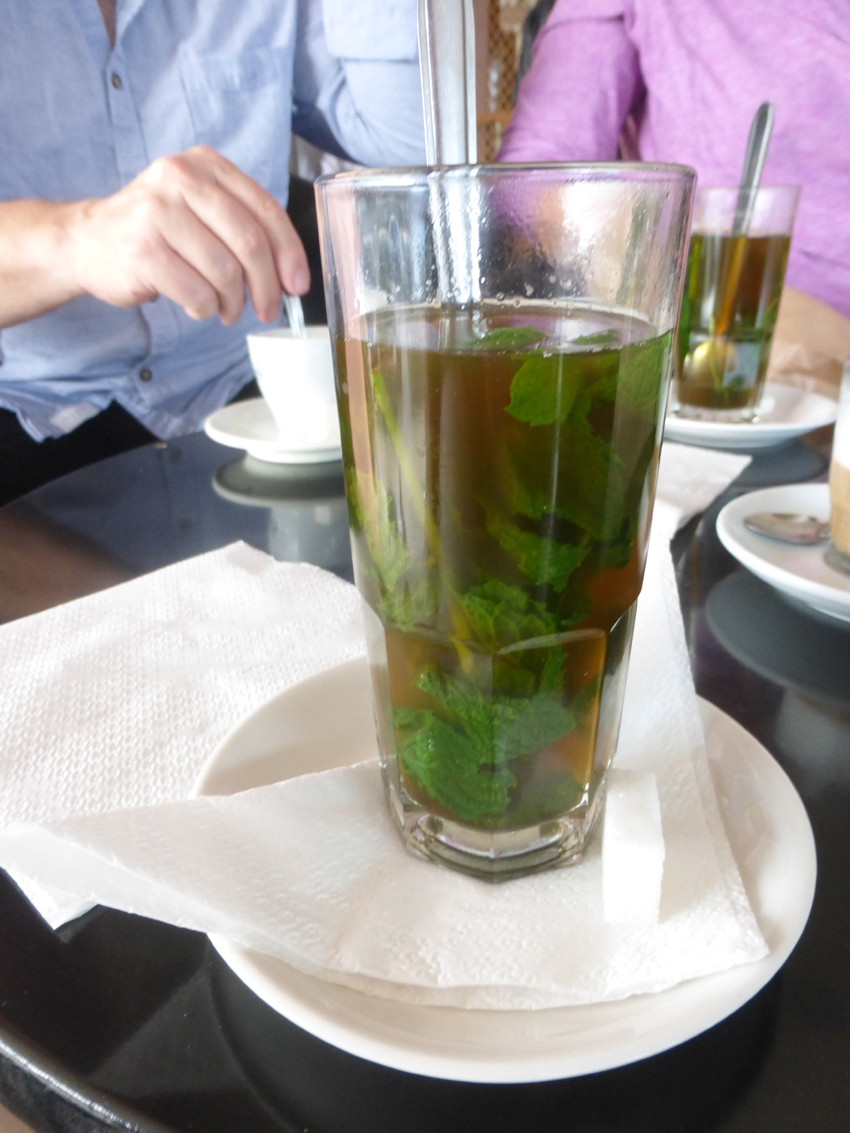 There were two things you could count on seeing every day here in Morocco...mint tea (the national drink)...