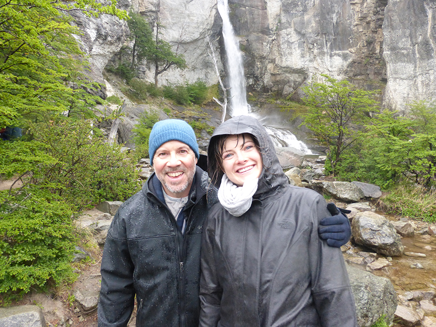 """Don't go chasing waterfalls"" (TLC, 1994). Sorry, TLC – but, when in Patagonia…"