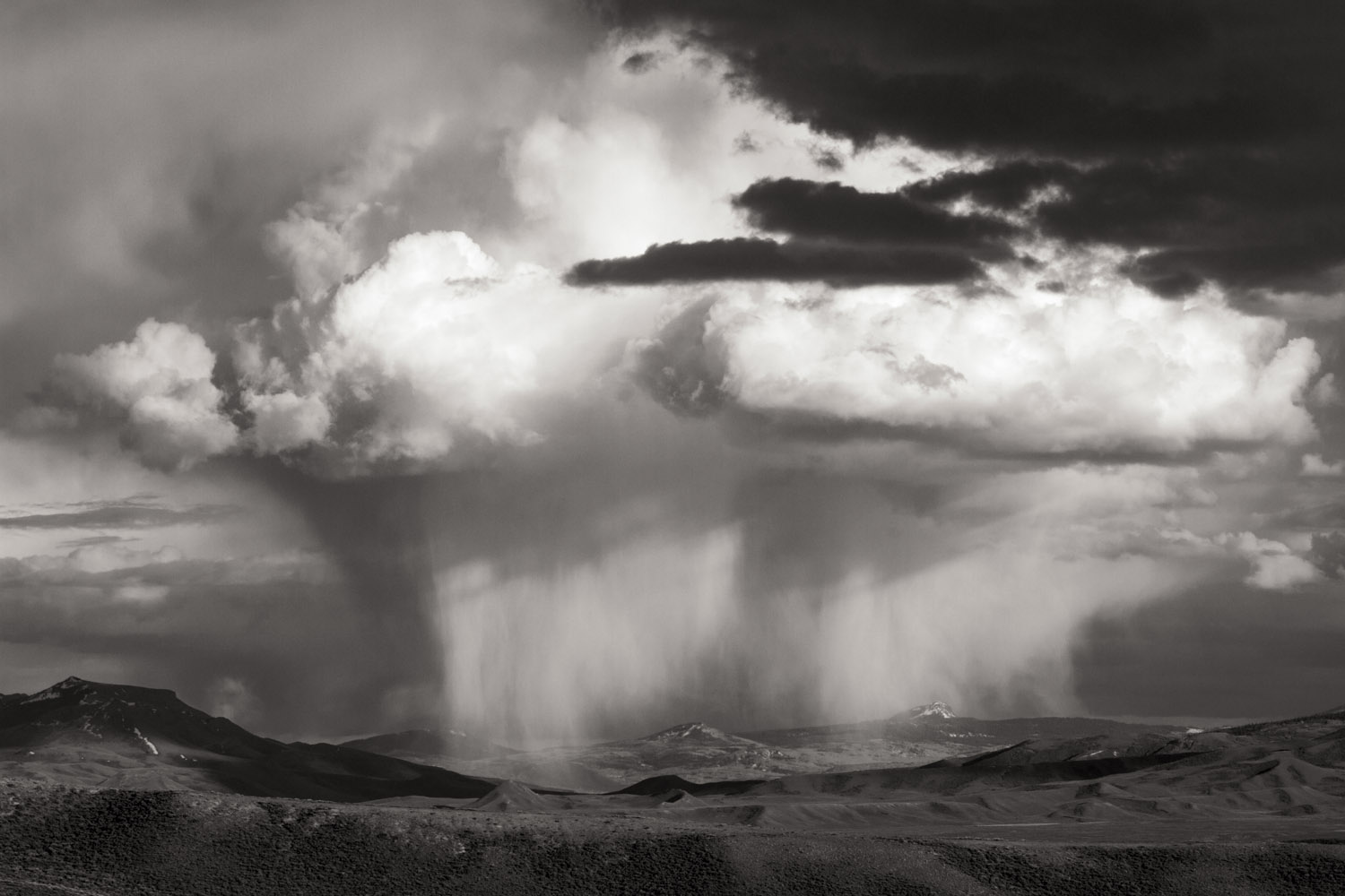 Afternoon storm, Wyoming