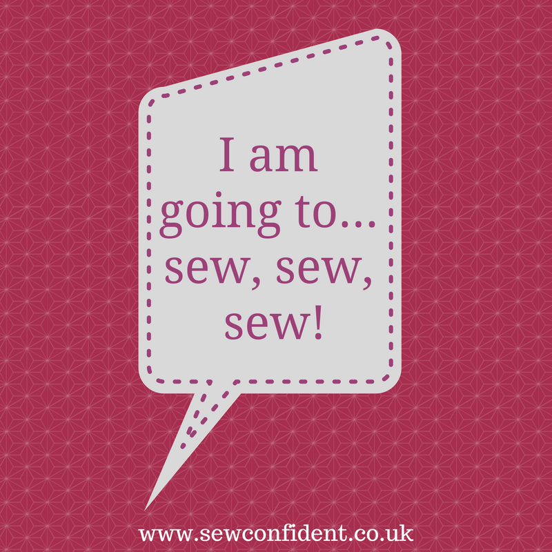 new years resolution sew confident