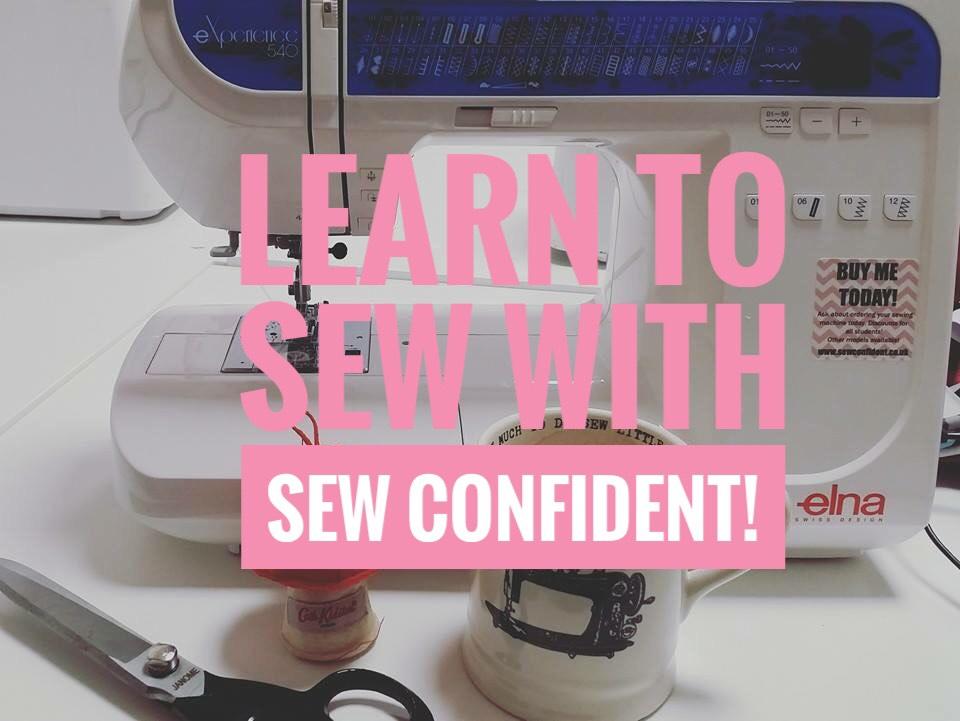 sew confident sew with us