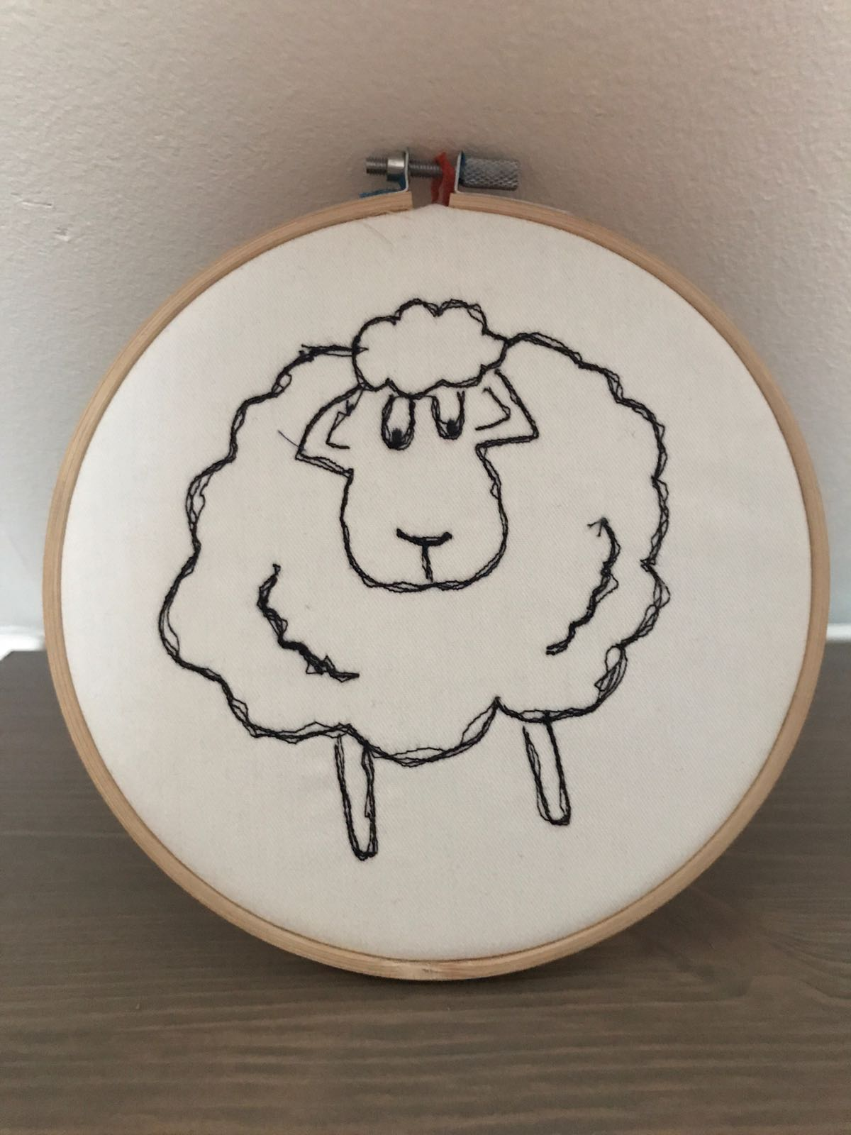 Laura's Machine Doodles Sheep