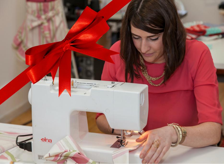 Sewing Machine Christmas Present