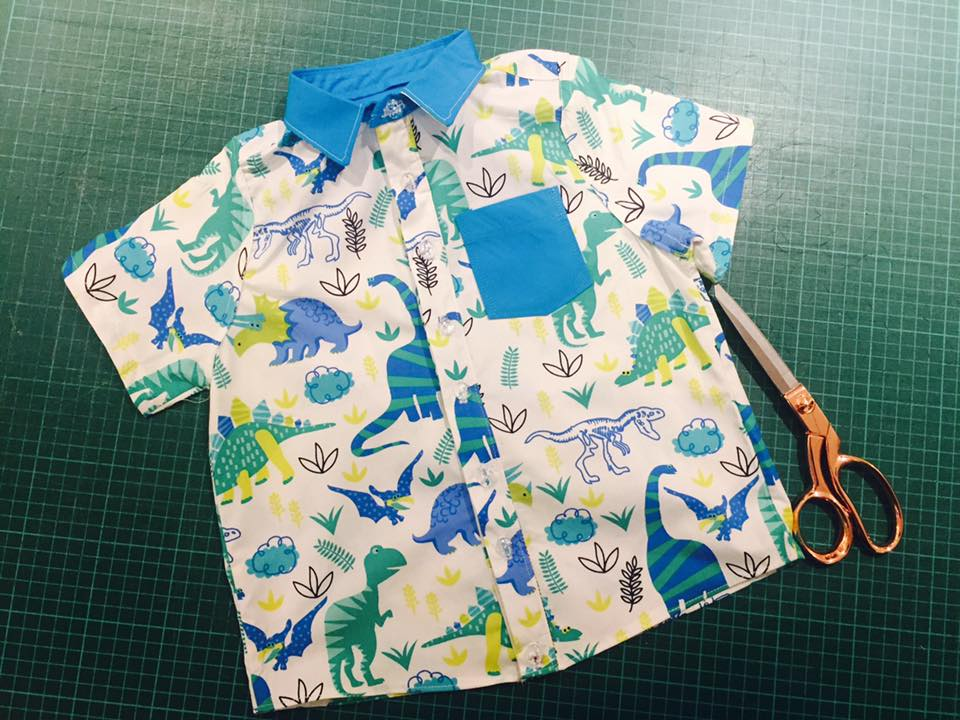 boys shirt by tracey