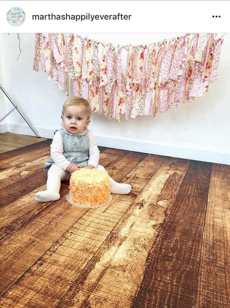 This is @marthashappilyeverafter (mummy blogger) little girl on her 1st birthday wearing one of my outfits...this was a high point!!