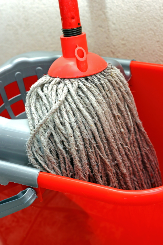 Wherever this mop and bucket are located, they're part of something far more substantial. But if they matter enough to exist in the first place, they therefore matter fundamentally.