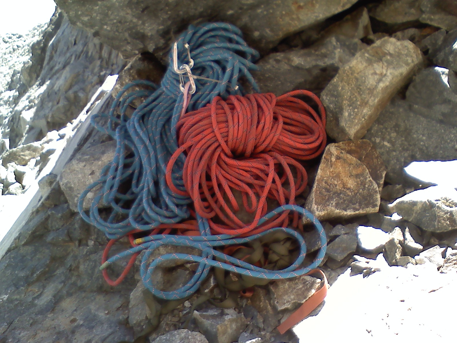 Not a climber? Doesn't matter. You might still have learned something in a brief encounter with another climber that resonates for life.