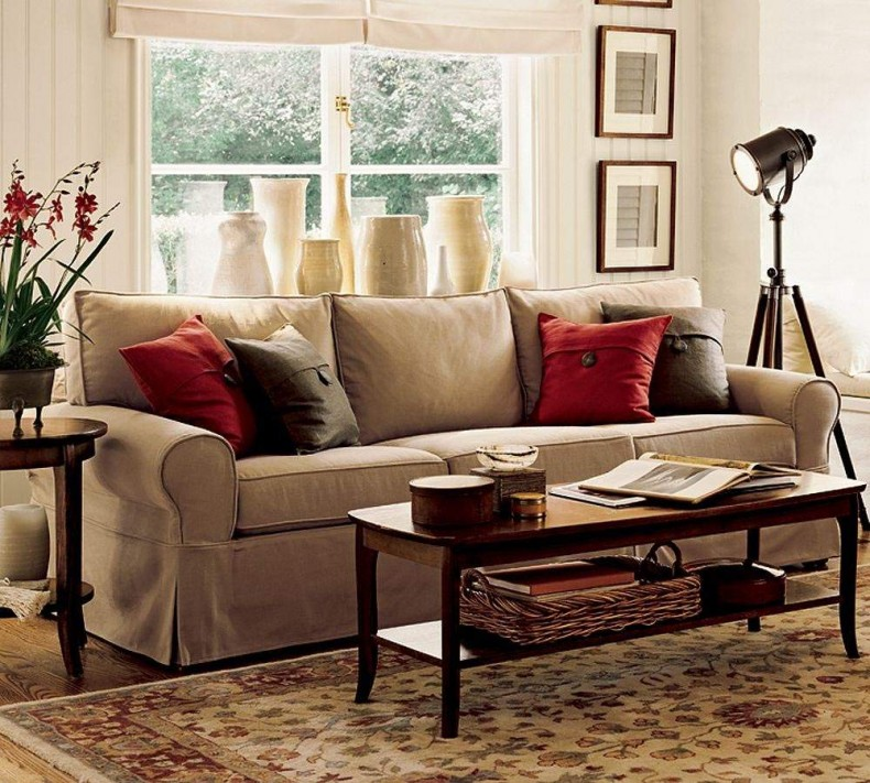 Living room furniture or movie set? Stories of all sorts share certain common features.