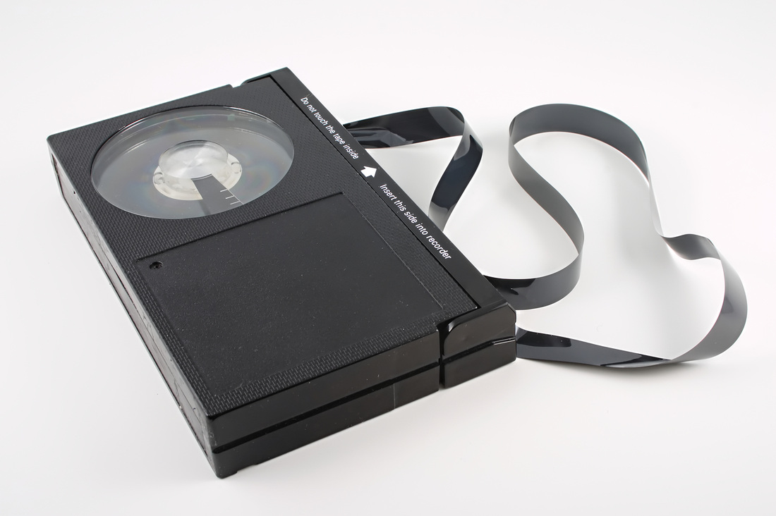 It tended to work better when the tape was inside the cassette! But on deadline, all I wanted was simply for it to work at all.