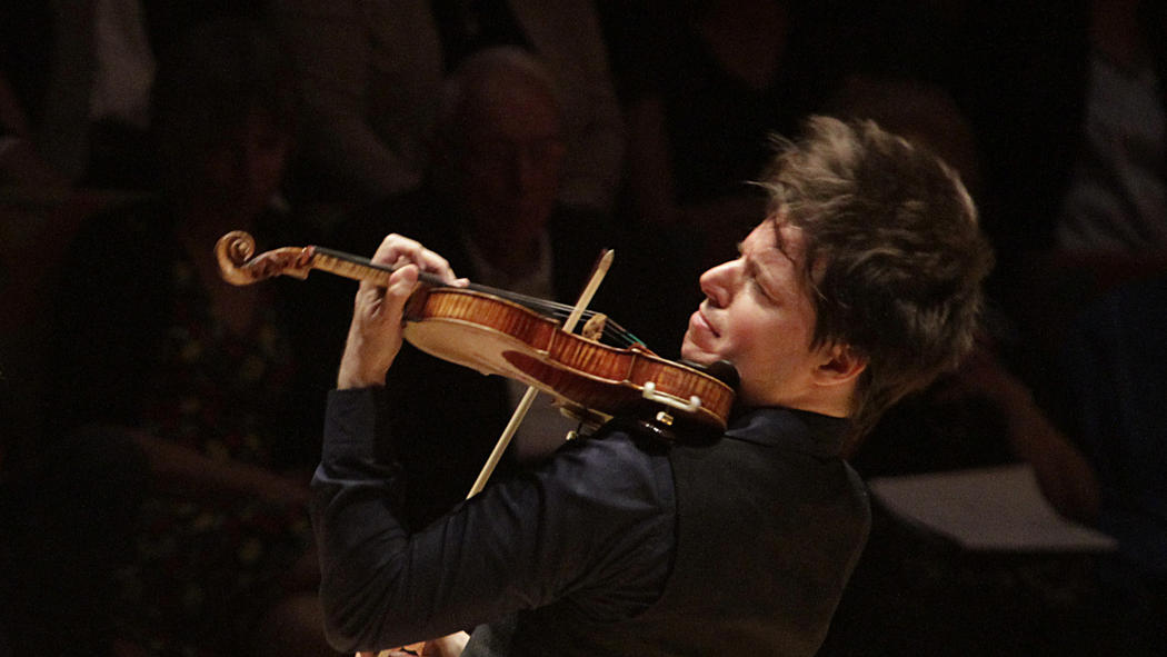 Joshua Bell, violinist. Music doesn't cure cancer, nor stop wars, nor solve budget problems. It's also vital to the continuity of culture.