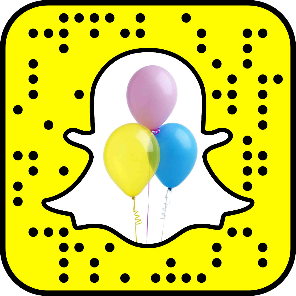 The balloons will hold interest longer than the next Snap you get. Plus, you can tie them to your wrist.
