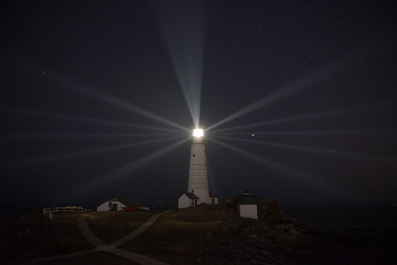 Leadership is a lighthouse. Lighthouses do more than just warn ships about sharp rocks. They symbolize stability and responsibility for all those safely on shore. They inspire hope and moral confidence. Secure from storm lashed seas, lighthouses reassure us that someone is looking outward rather than inward. Leadership must embody at least as much.
