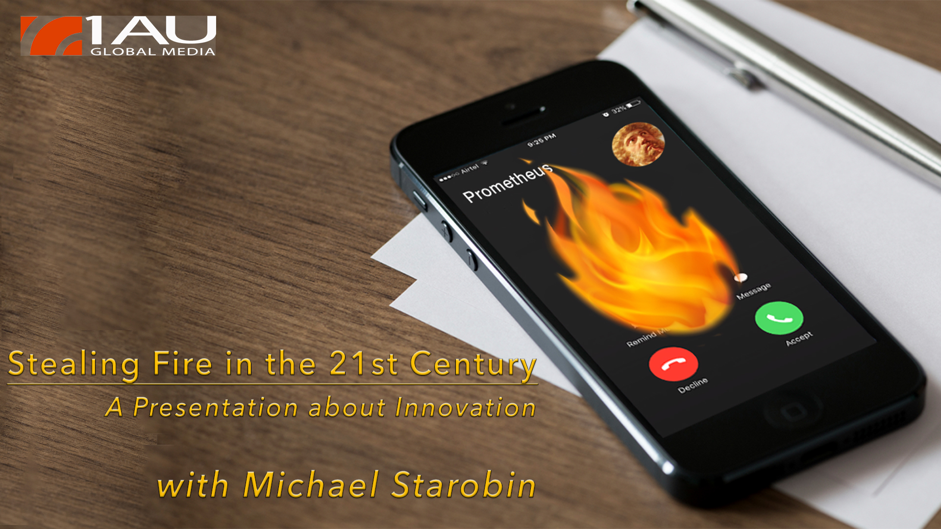 Stealing Fire in the 21st Century - A Presentation about Innovation