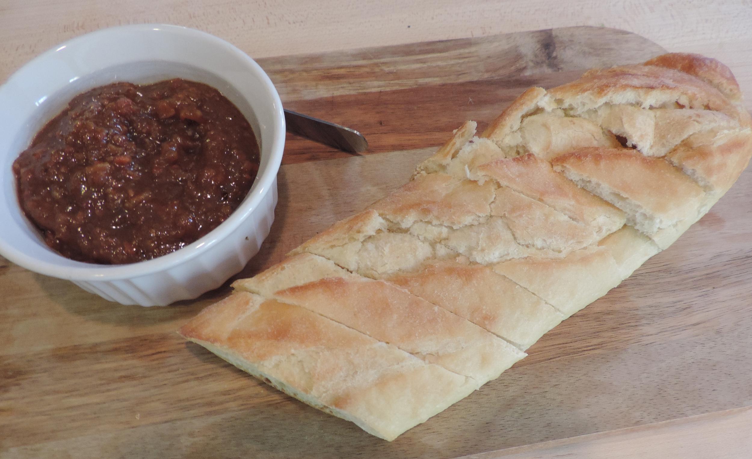 Bacon Jam w/ Crusty Bread